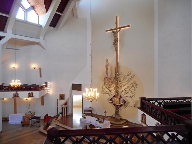 kościół w Gubinie, spojrzenie z góry