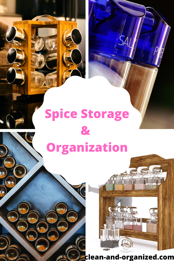 Declutter and order your spices with these kitchen spice organization ideas and storage solutions