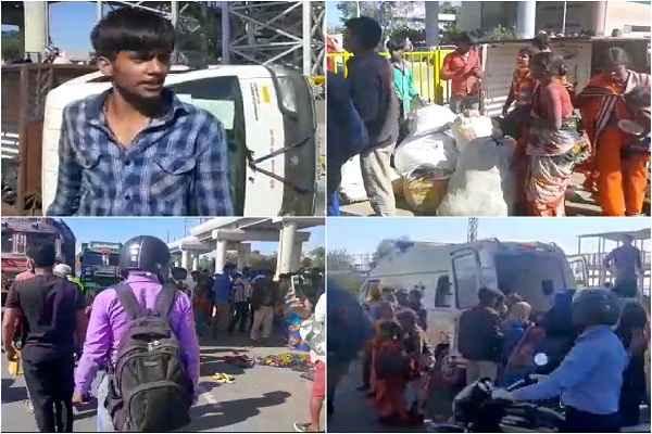 faridabad-accident-29-march-poor-majdor-from-delhi-mathura-news