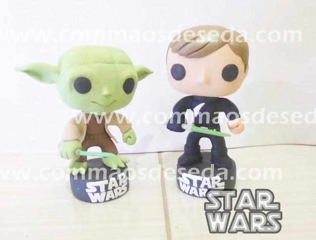 Yoda e Luke Skywalker