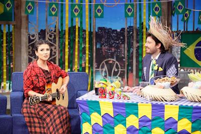 Paula e Danilo (Crédito: Gabriel Cardoso/SBT)