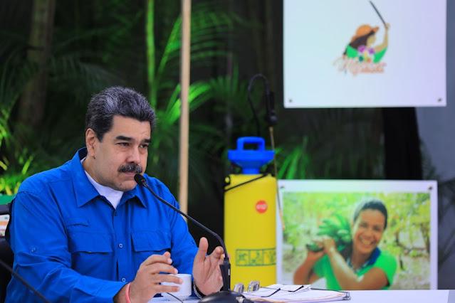 """MADURO CALIFICA DE """"MISERABLE"""" A EE. UU. POR EXCLUIR A VENEZUELA DE DONACIÓN DE VACUNAS"""