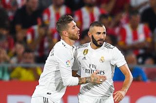 Karim Benzema and Sergio Ramos end 2019/20 season as Real Madrid's highest goalscorers