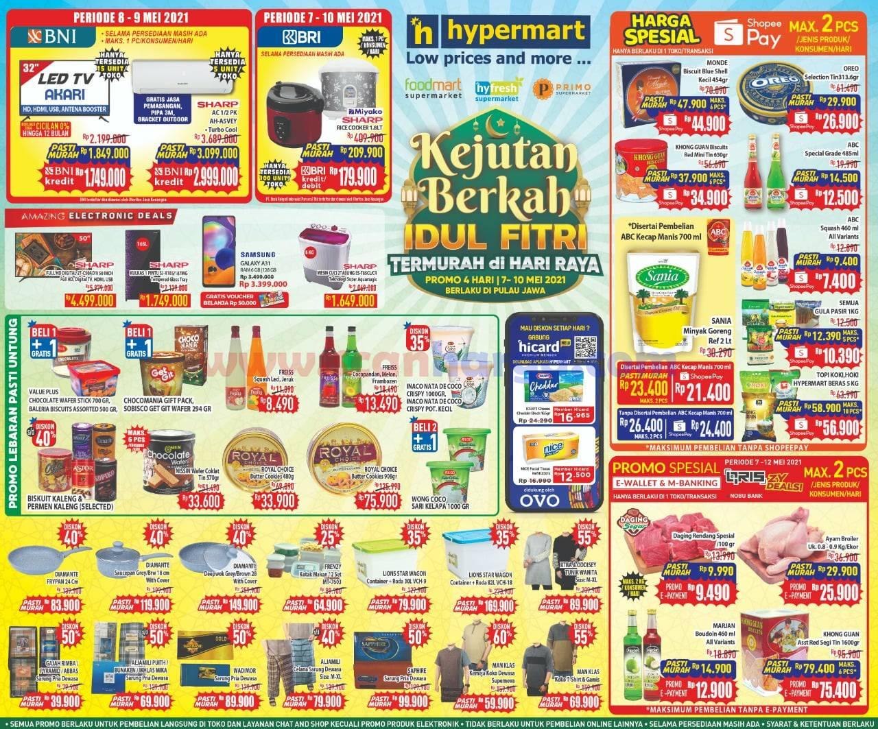 Katalog Promo Hypermart Weekend 7 - 10 Mei 2021 2