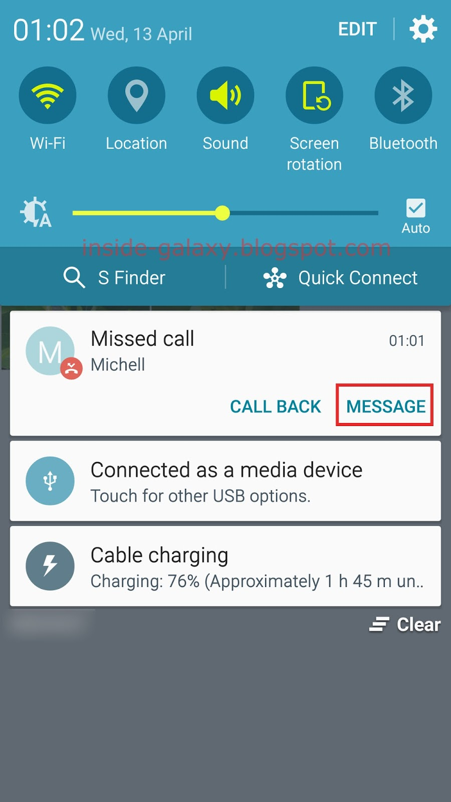 galaxy s6 optimisation applications message