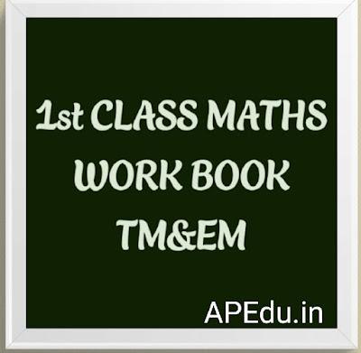 1st CLASS MATHS WORK BOOK TM&EM