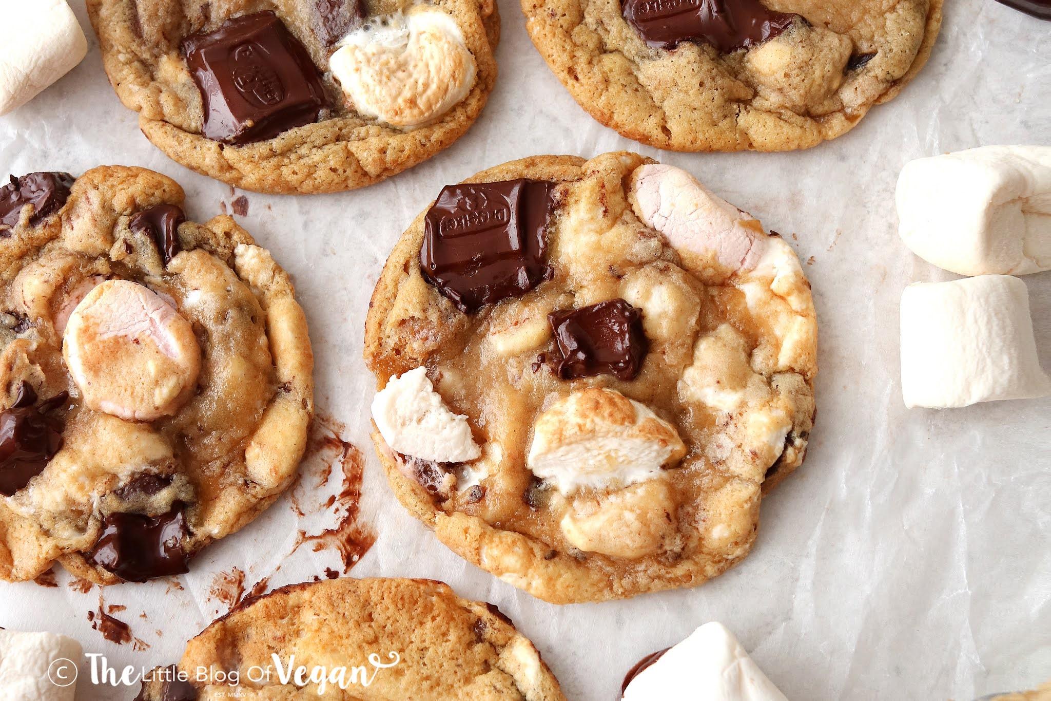 Sm'ores cookies