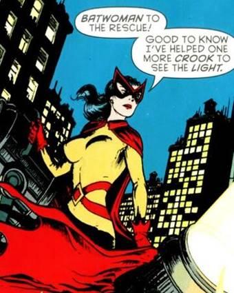 La primera Batwoman fue Kathy