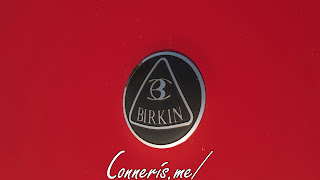 Birkin Lotus Seven Hood Badge