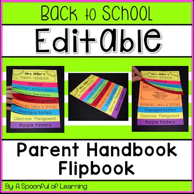 sample handbook for preschool