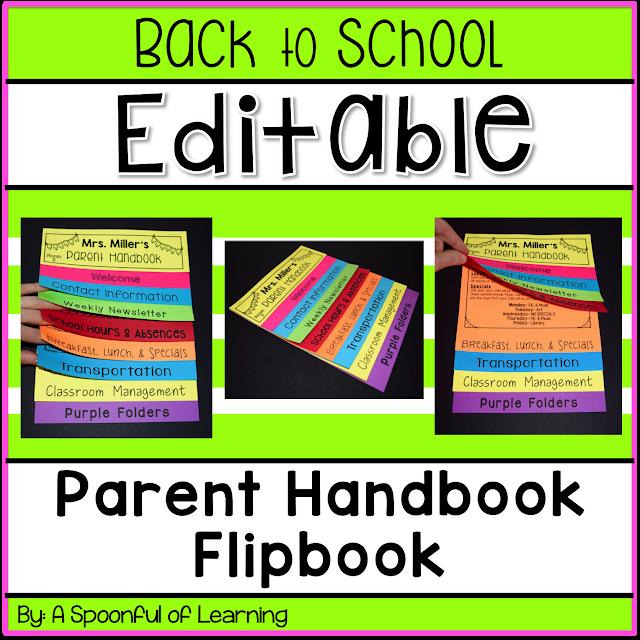 Parent Handbook Flipbook
