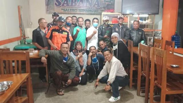 Aksi Sosial Bagi-bagi Masker, Mewarnai HUT FKPPI ke- 42 di Kota Bukittinggi