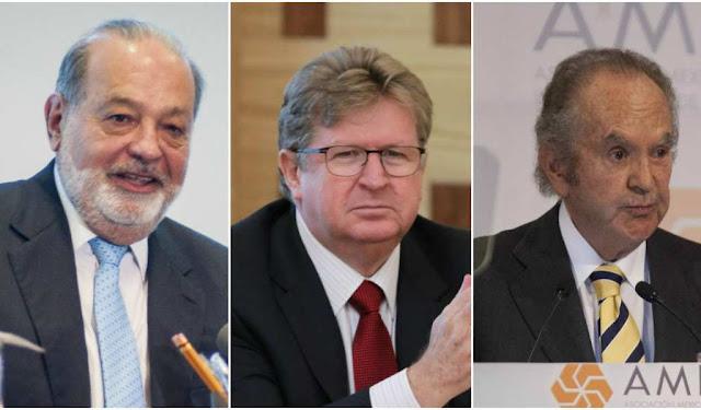 Slim, Larrea y Baillères: así formaron su fortuna los tres mexicanos más ricos