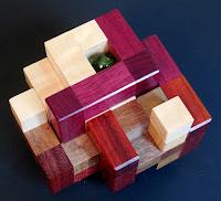 Split Cube 2 Pieces