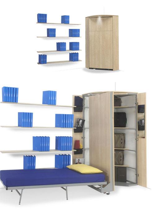 10 ideas de camas plegables que no podras creer ingeniando for Ideas camas