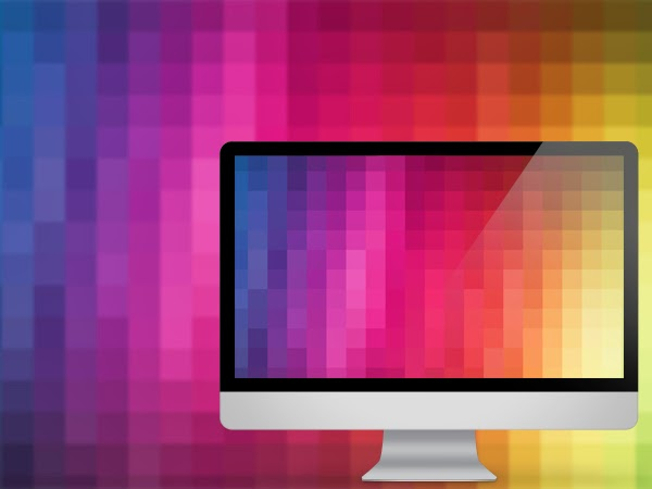 Pixel Wash Wallpaper available