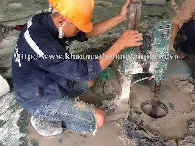 Khoan cắt bê tông tại huyện Trần Văn Thời