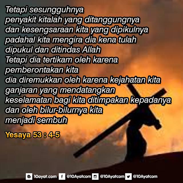 Yesaya 53: 4-5