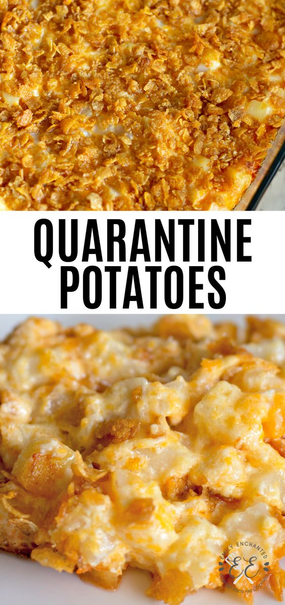 Best and Easy Potato Casserole Side Dish for Quarantine