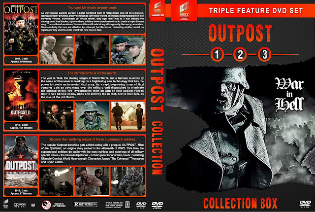 Outpost Triple Feature Collection DVD Cover