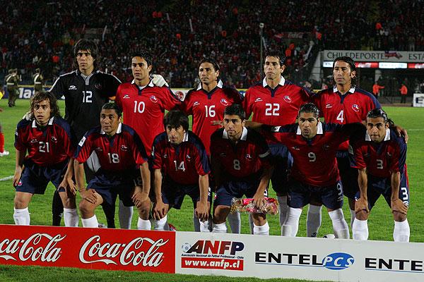 Formación de Chile ante Ecuador, Clasificatorias Alemania 2006, 12 de octubre de 2005