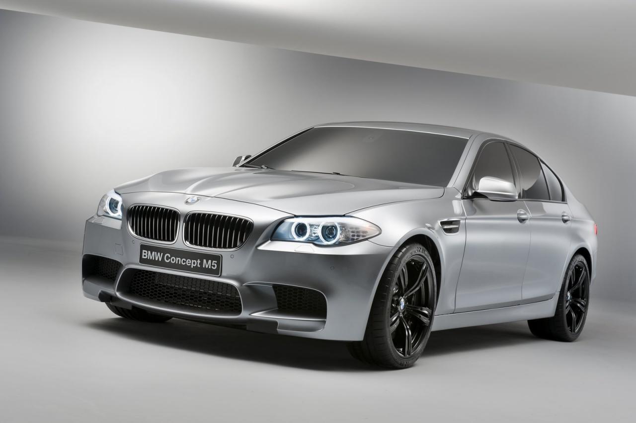 Долгожданная премьера BMW M5 Concept состоялась.