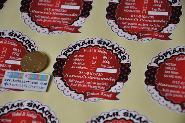 tempah sticker murah kahwin produk product perniagaan bisnes majlis bulat warna #stickerwarnakedaiirtiyah #sayajual #sayajualsticker #stickerproduk #stickerproduct #stickermurah #tempahsticker #kedaisticker #stickerbirthday #stickerkahwin