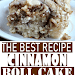 EASY COFFEE CAKE RECIPE – THE BEST CINNAMON ROLL CAKE RECIPE