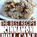EASY COFFEE CAKE RECIPE – THE BEST CINNAMON ROLL CAKE RECIPE