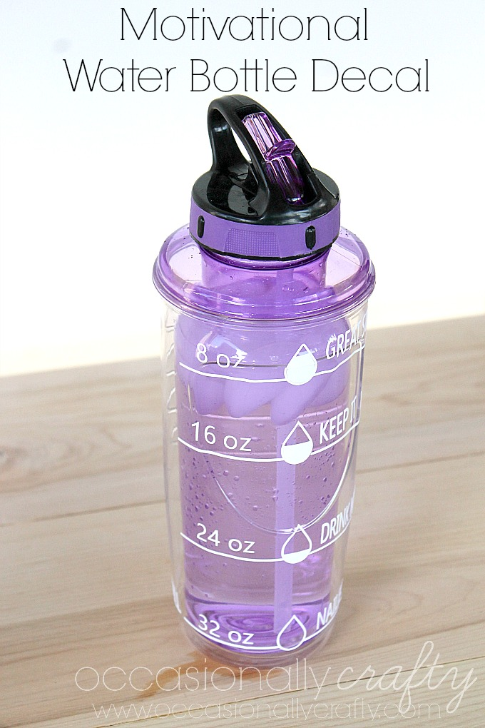 Water Tracker Svg Free : water, tracker, Water, Bottle, Motivational, Tracker, (Free, Silhouette, File), Occasionally, Crafty: