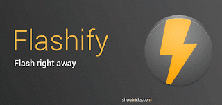 flash Custom Recovery/ Kernels using Flashify App