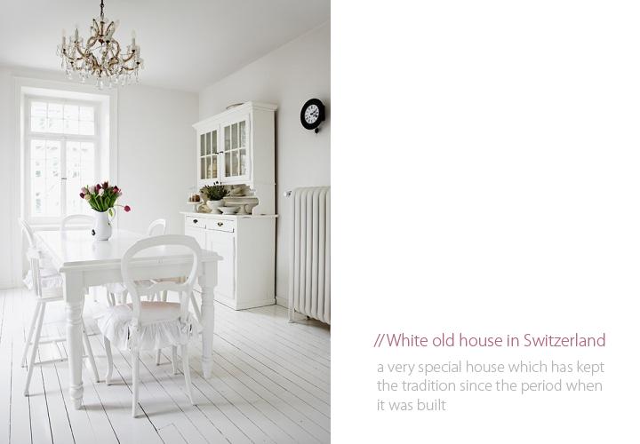 20a97cf799e8 White Old House in Switzerland ♥ Бяла къща в Швейцария – 79 ideas
