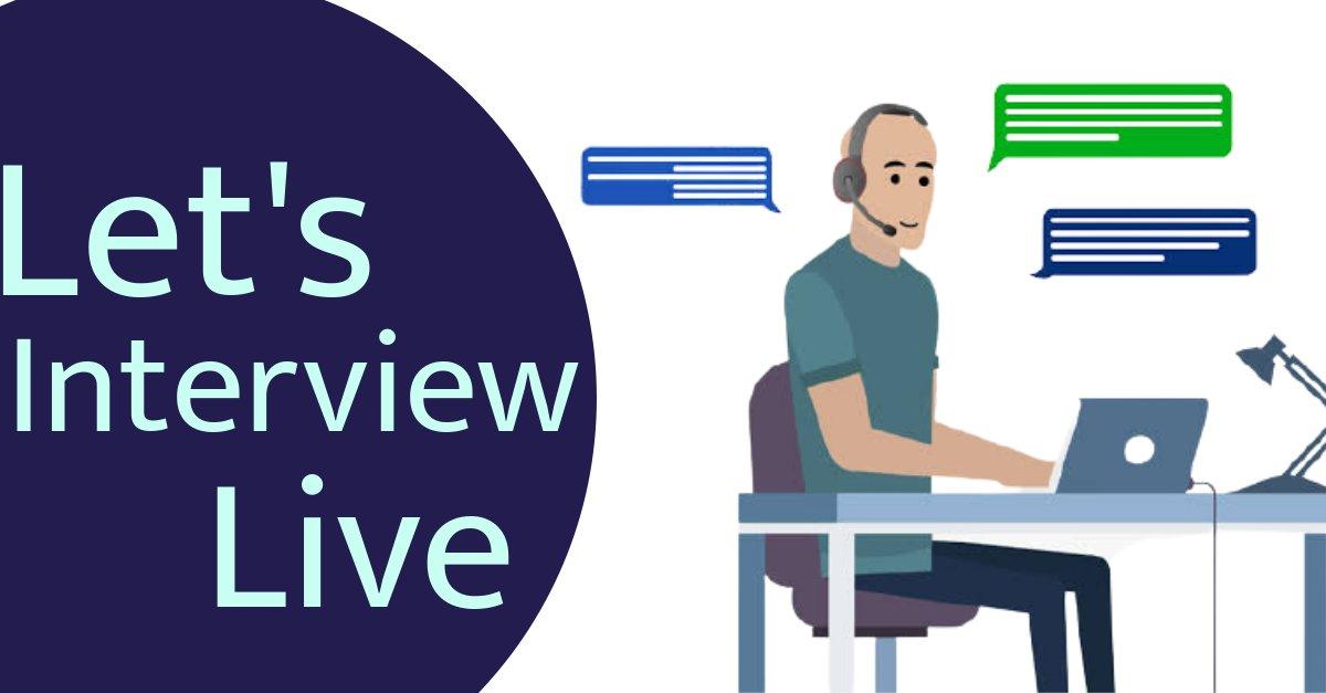 Home, job interview, online