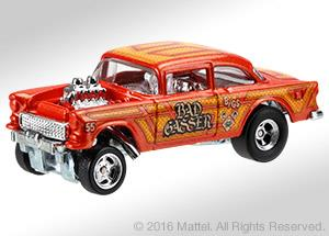 Chevy Bel Air Gasser Redliners