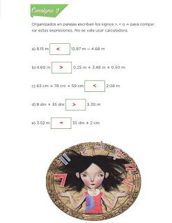 Respuestas Apoyo Primaria Desafíos Matemáticos 4to. Grado Bloque IV Lección 71 Problemas olímpicos