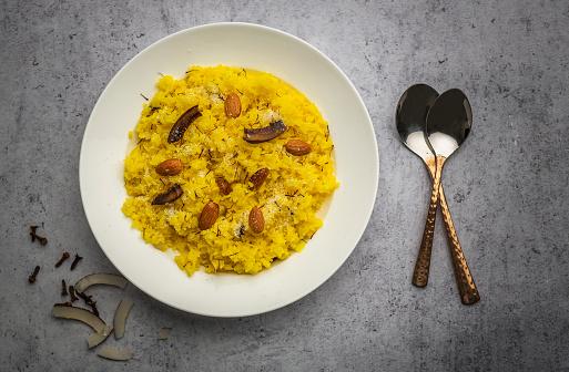 Easy method to cook Sweet (meethe)  Rice