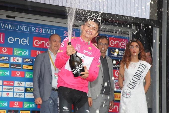 ¡Gigante! El tolimense Camilo Andrés Ardila es el campeón del Giro de Italia Sub-23