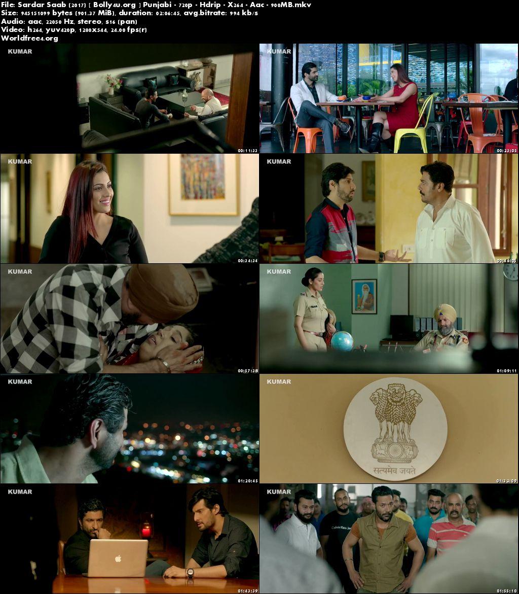 Sardar Saab 2017 HDRip 900MB Punjabi Movie 720p Download