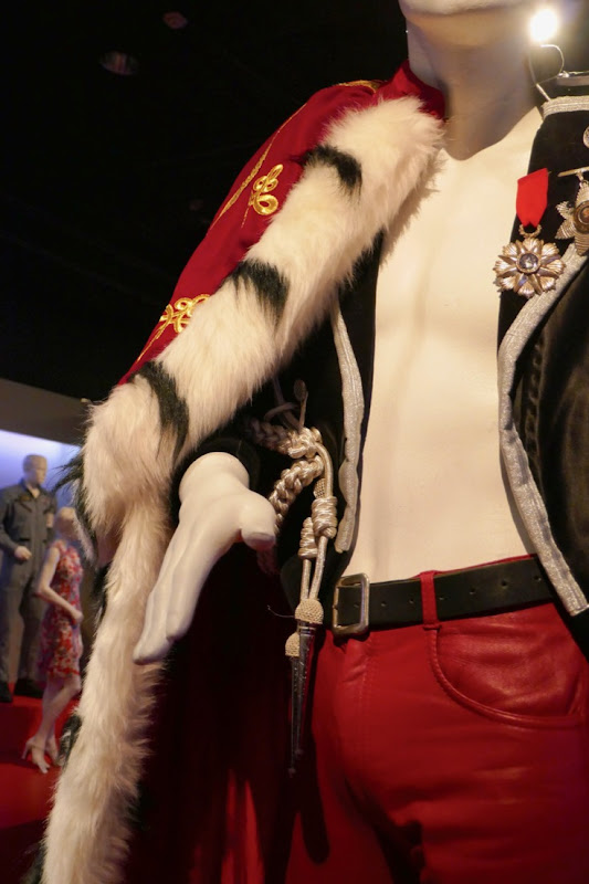 Freddie Mercury Bohemian Rhapsody costume detail