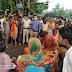 सड़क दुघर्टना में घायल व्यक्ति की मौत के बाद लाश को एनएच पर रख किया हंगामा