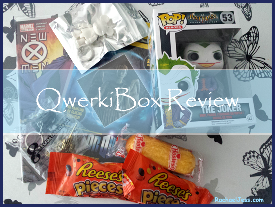 What I thought of the new QwerkiBox mystery subscription box