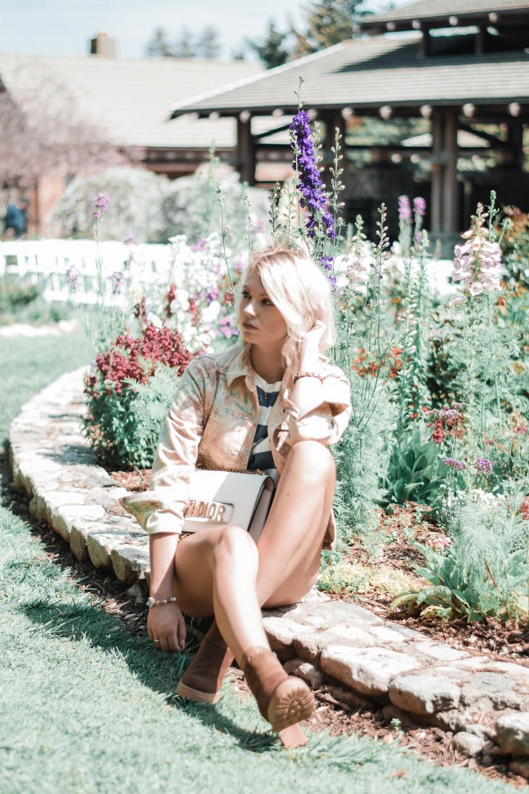 descanso gardens spring