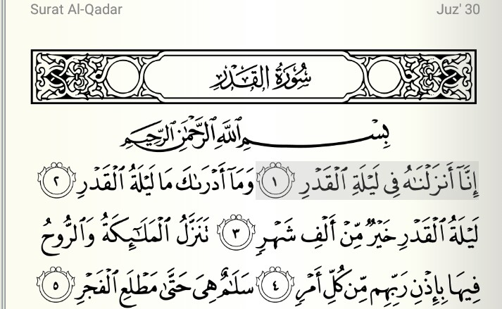 Tahukah Anda Malam Lailatul Qadar Taukahanda