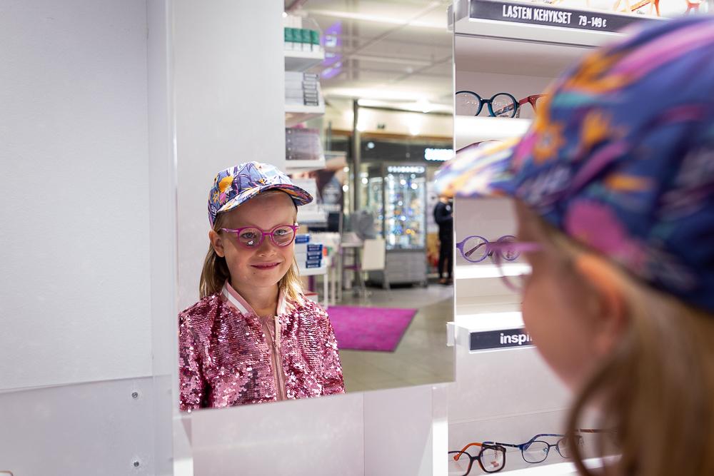 Ekaluokkalaisen silmälasit