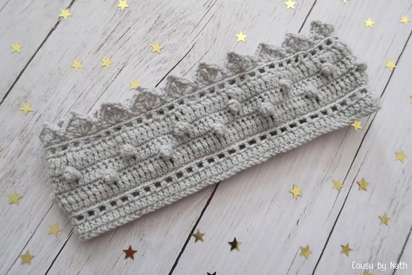 Cousu By Nath Mon Headband Couronne Au Crochet