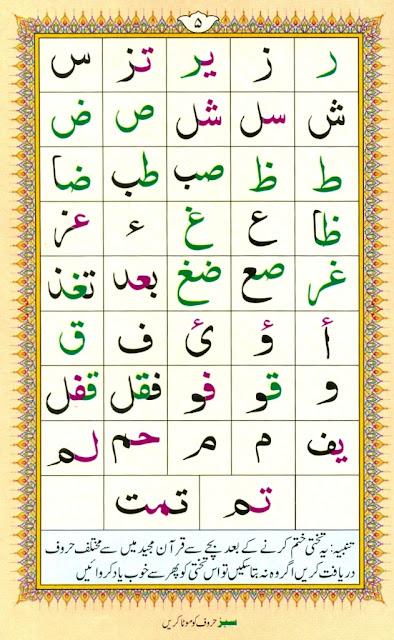 Noorani Qaida page 5