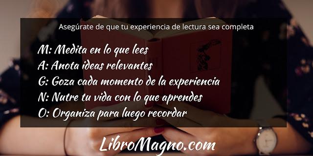 Experiencia completa es un proceso MAGNO