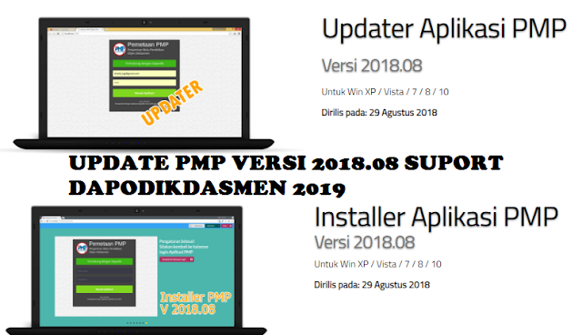 DOWNLOAD UPDATER DAN INSTALLER PMP 2018.08