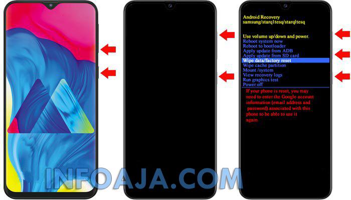 Factory Reset Samsung Galaxy A51