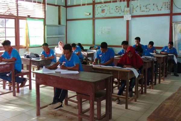 Ujian paket C 2018 diikuti 311 peserta di 5 PKBM
